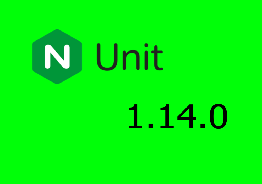NGINX Unit 1.14