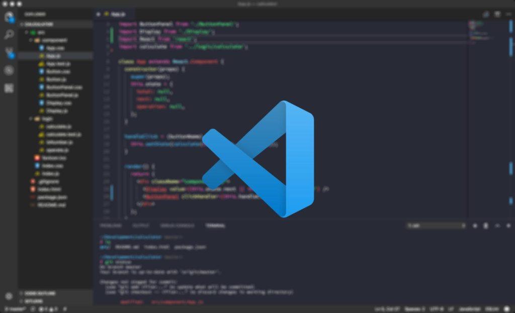 Текстовой редактор VS Code