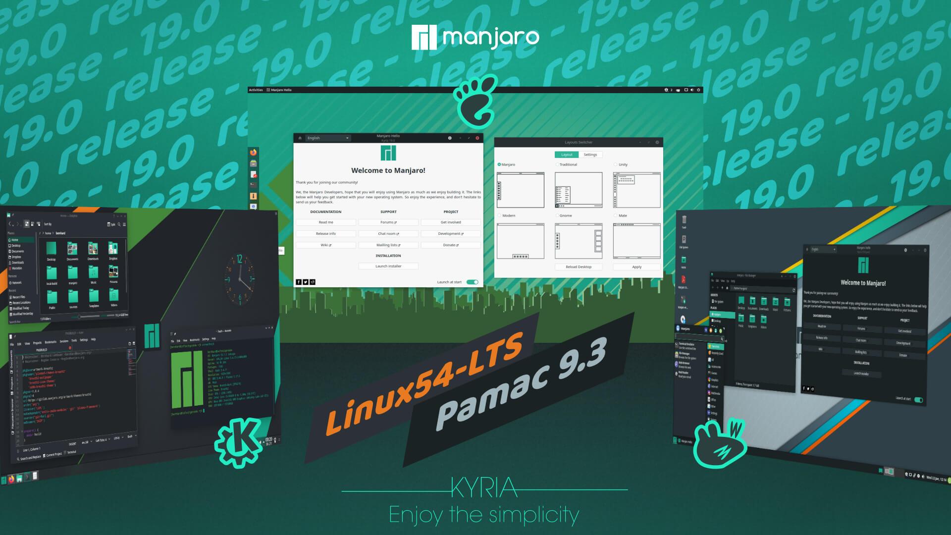 manjaro linux 19