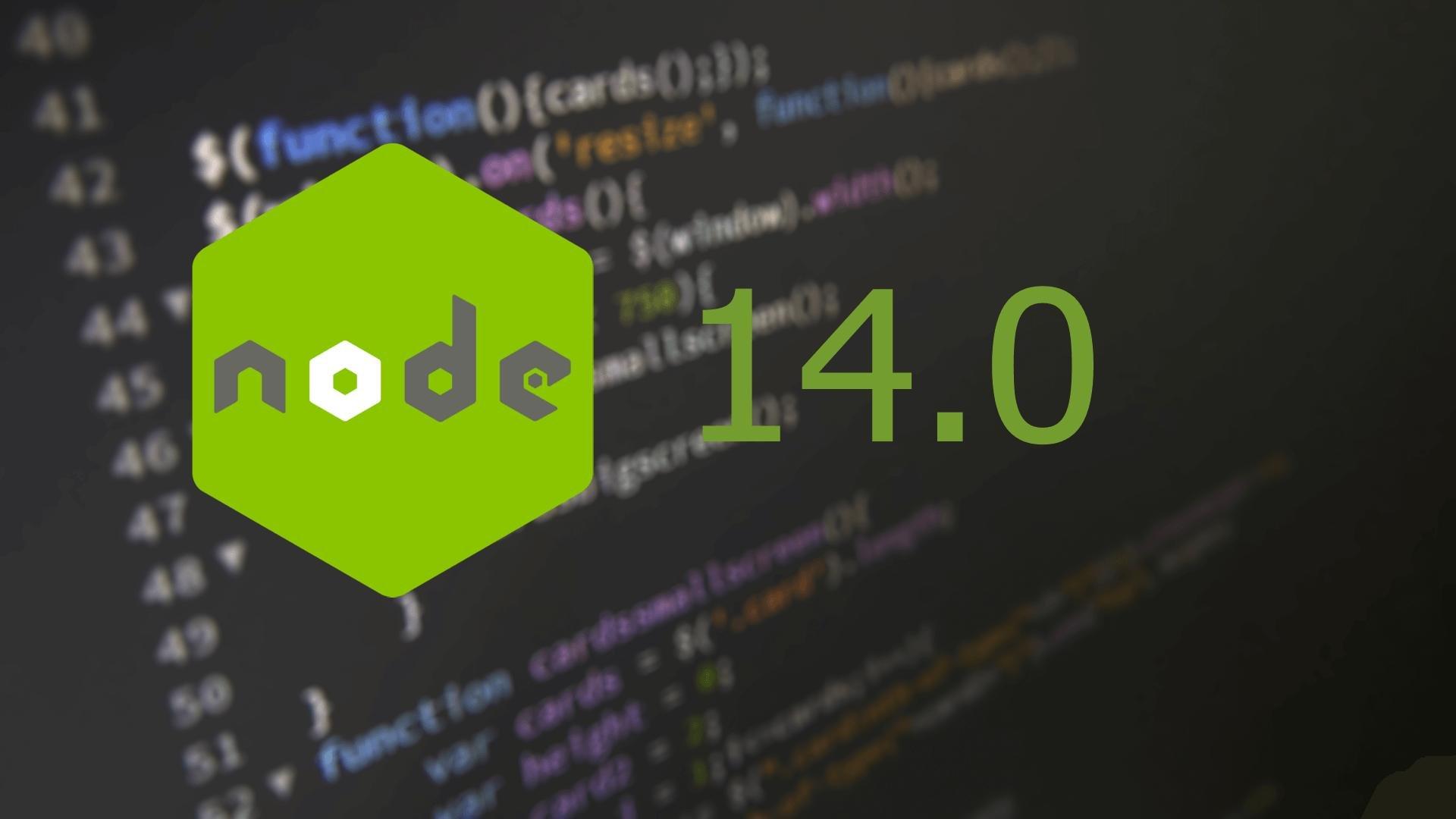 node.js 14.0