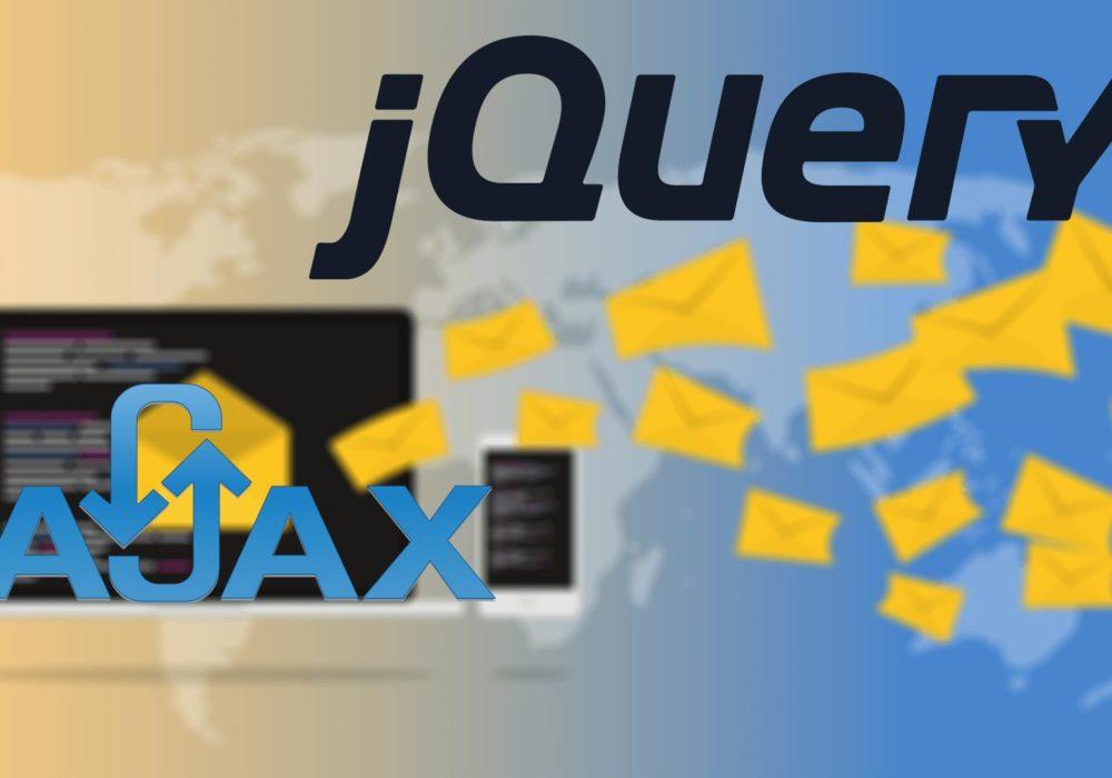 ajax с помощью jquery