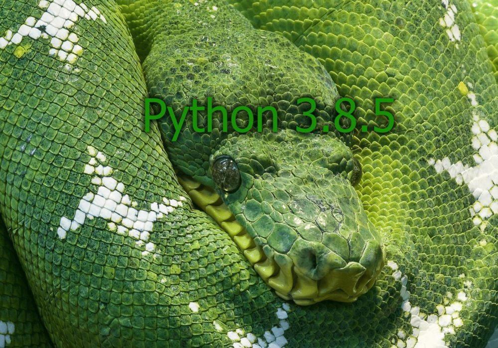 Python 3.5.8