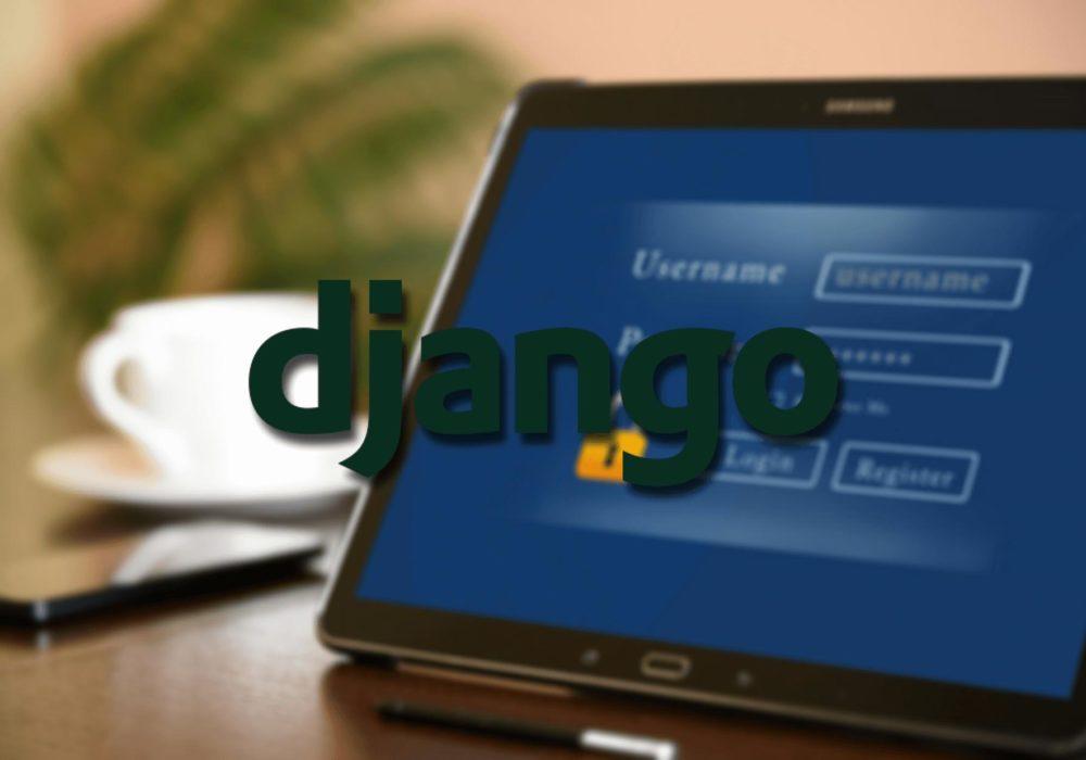 регистрация django 3