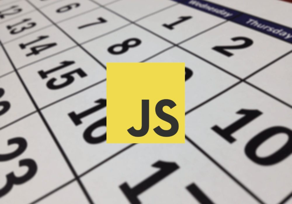 календарь на javascript