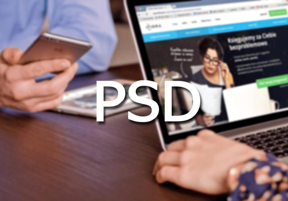 psd макеты сайтов для новичков
