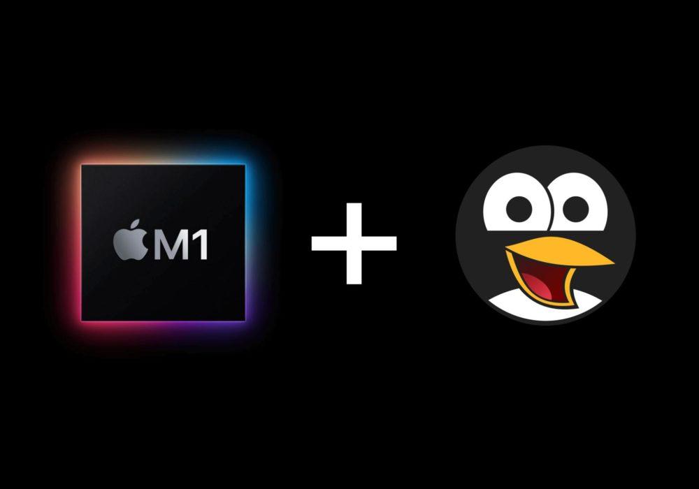 Скоро появиться поддержка Linux в MacBook на M1