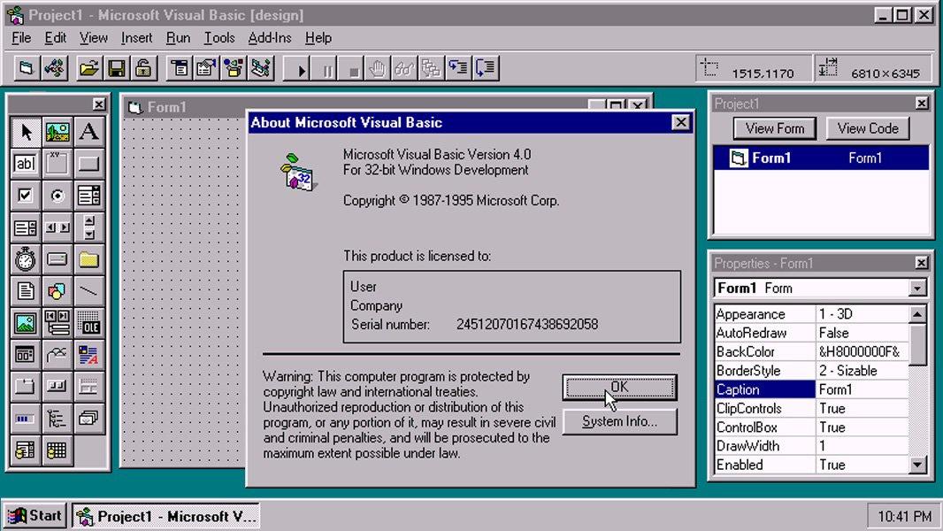 Язык программирования VBA или Visual Basic App