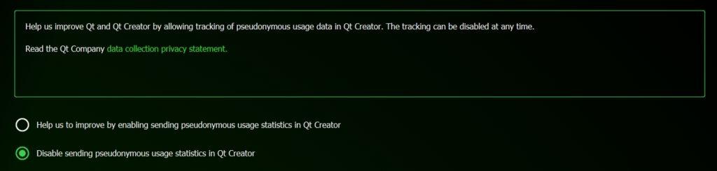 Выбор отправки данных