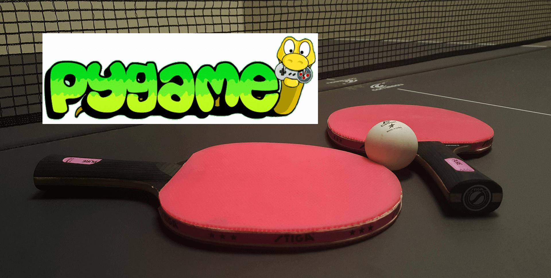Python PyGame как сделать игру пинг понг